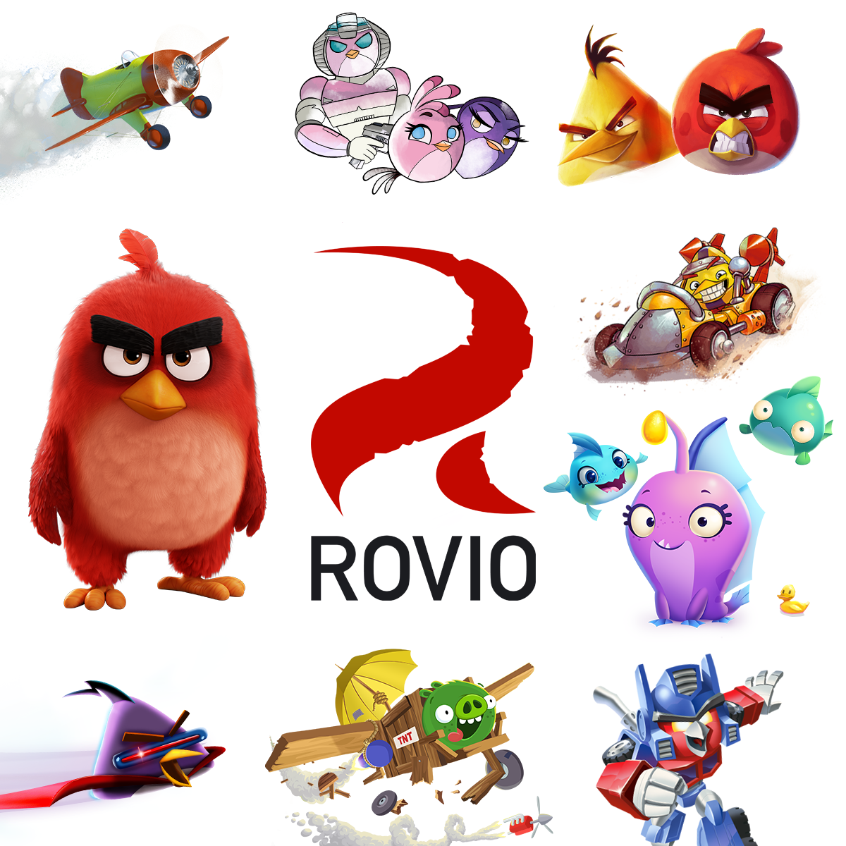 Rovio Com The Home Of Rovio Maker Of Angry Birds Bad Piggies